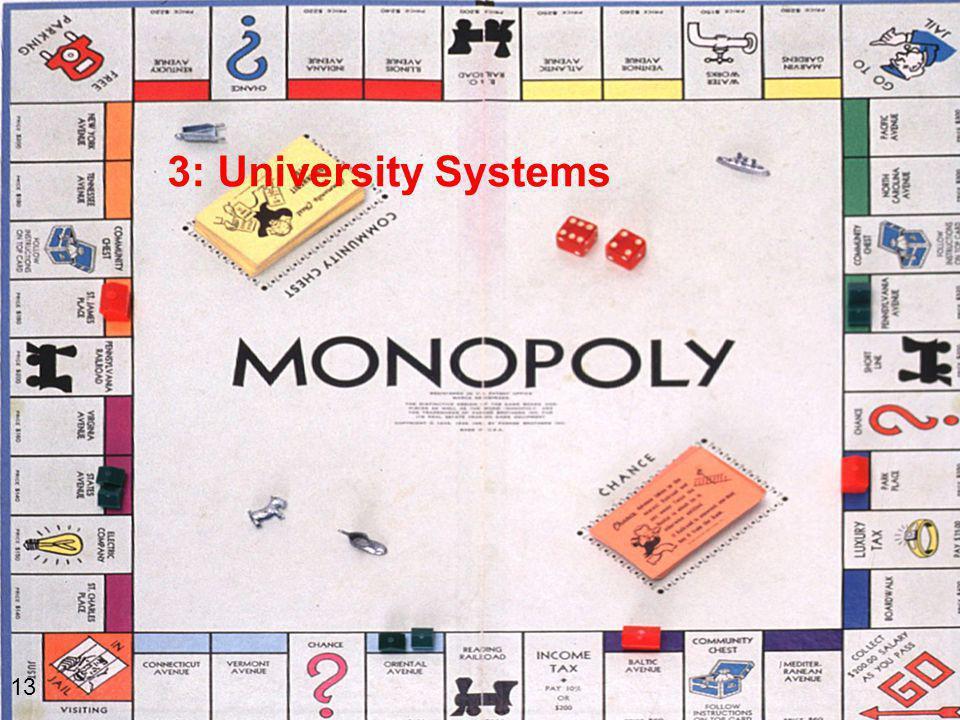3: University Systems 13