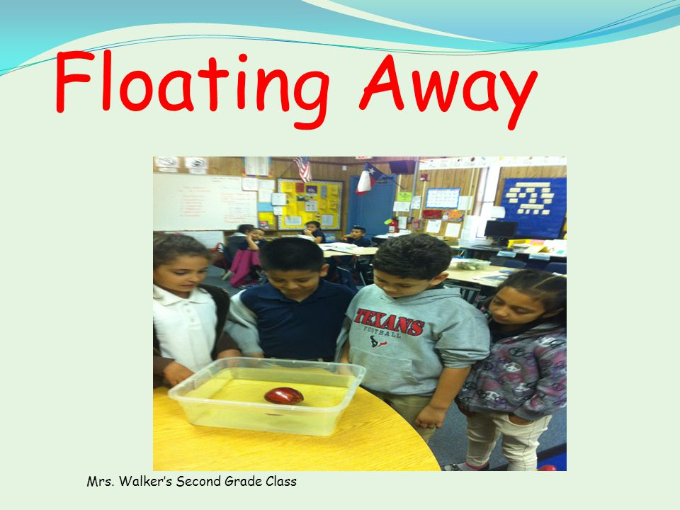 Does the mass of the fruit affect whether the fruit will sink or float? Problem