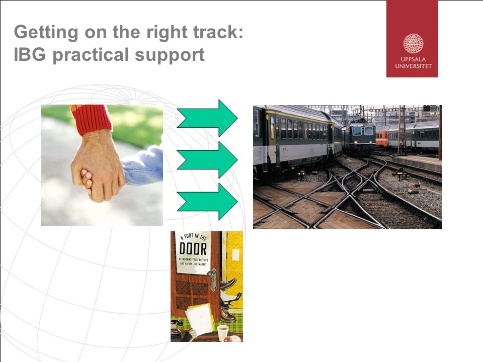 Getting on the right track: IBG practical support