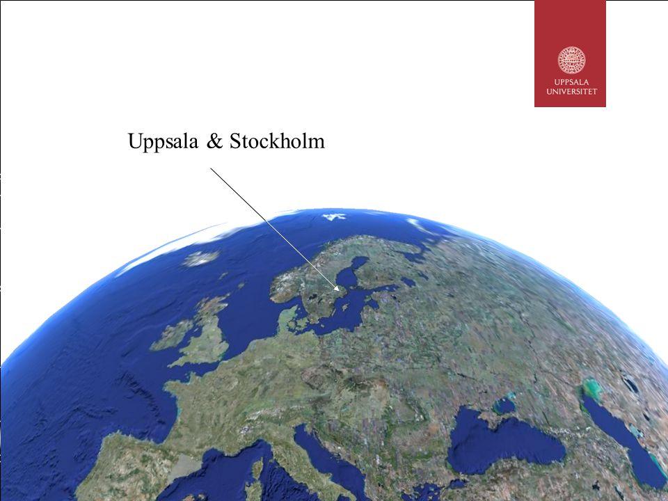 Uppsala & Stockholm