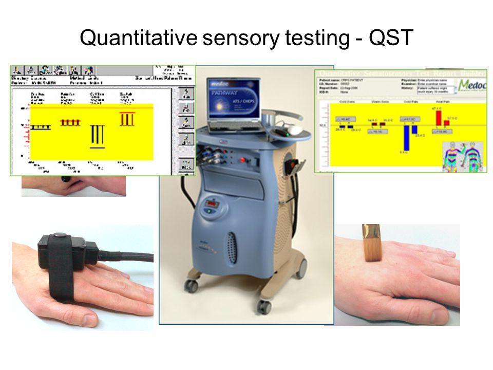 Quantitative sensory testing - QST