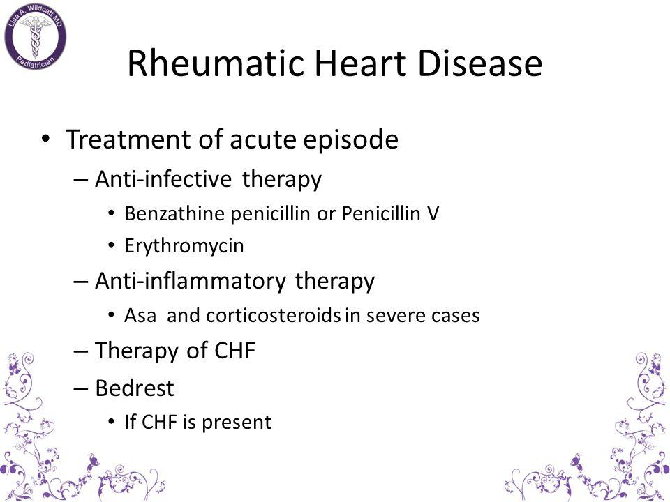 Rheumatic Heart Disease Erythema MarginatumSubcutaneous nodules