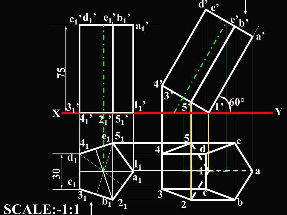 a 1 5 c 1 X Y 3 1 2 1 4 1 5151 4141 2121 3131 a1a1 d1d1 c1c1 b1b1 e1e1 d 1 b 1 e 1 a 1 c d b e 1 1 5 1 4 1 2 5 4 3 a b e d 3 2 1 60° 30 SCALE:-1:1 75