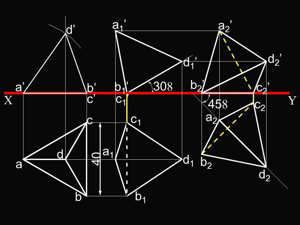 30 a b c d a d b c b 1 c 1 a 1 d 1 b1b1 c1c1 a1a1 d1d1 a 2 d 2 b 2 c 2 X Y 40 45 c2c2 b2b2 a2a2 d2d2