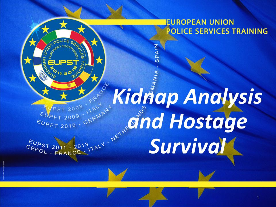1 Kidnap Analysis and Hostage Survival