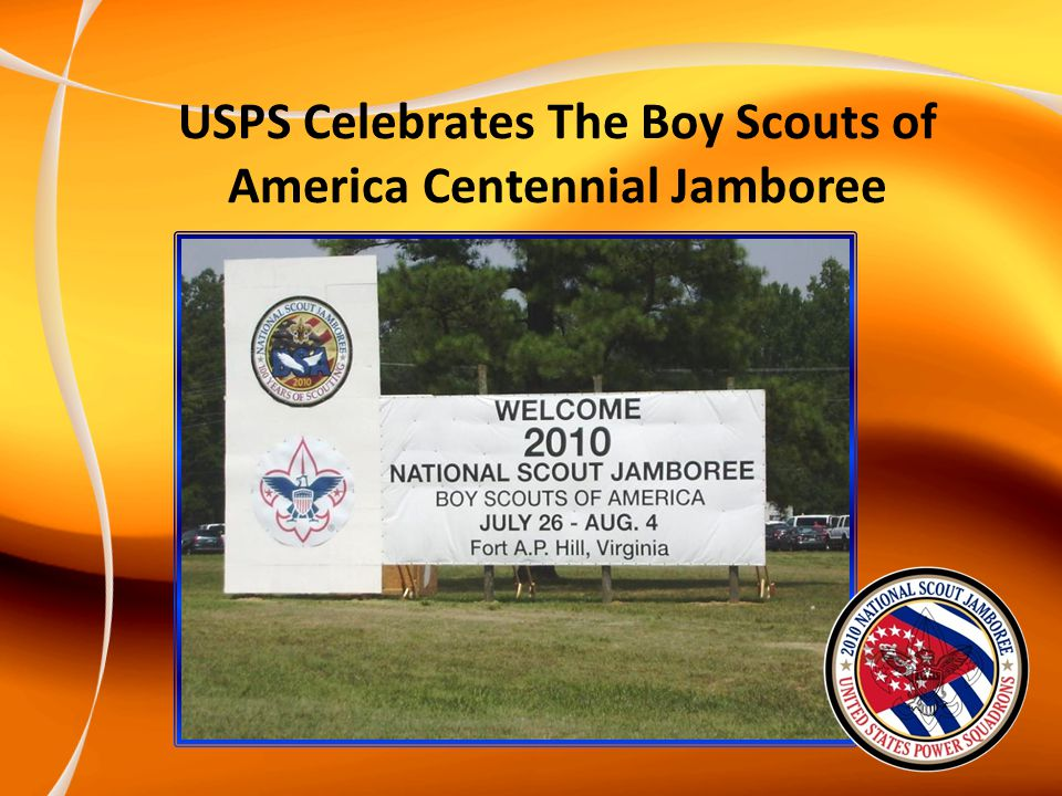 USPS Celebrates The Boy Scouts of America Centennial Jamboree