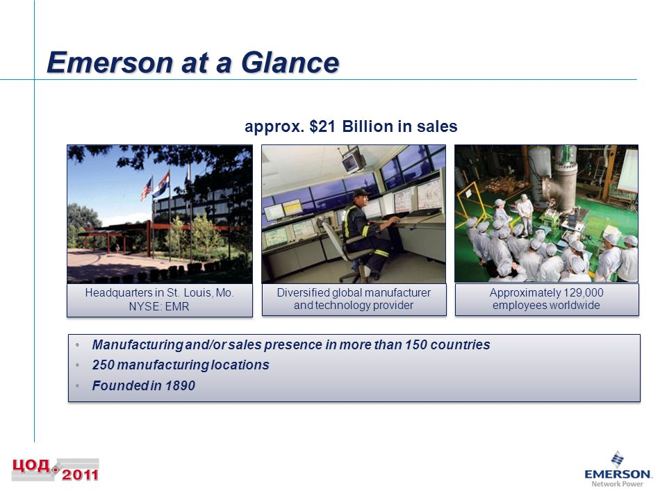 Emerson at a Glance approx.