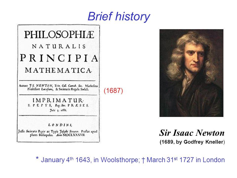 Newtons Laws Lex I: Corpus omne perseverare in statu suo quiescendi vel movendi uniformiter in directum, nisi quatenus a viribus impressis cogitur statum illum mutare.
