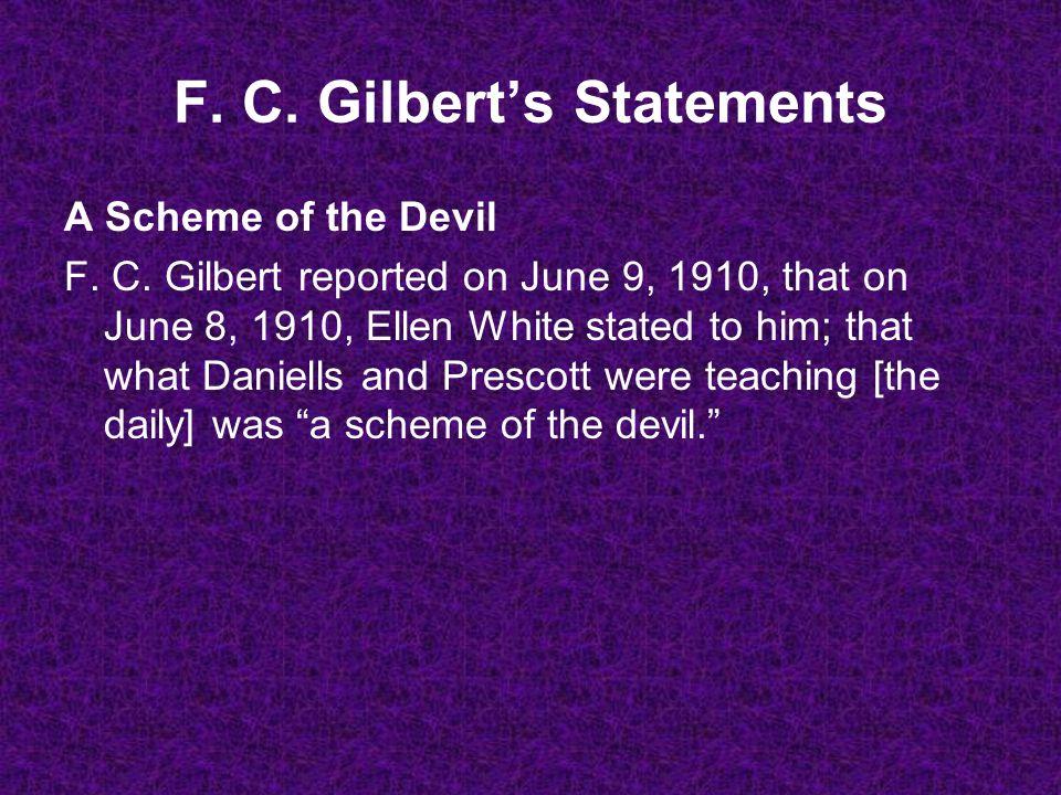 A Scheme of the Devil F. C.