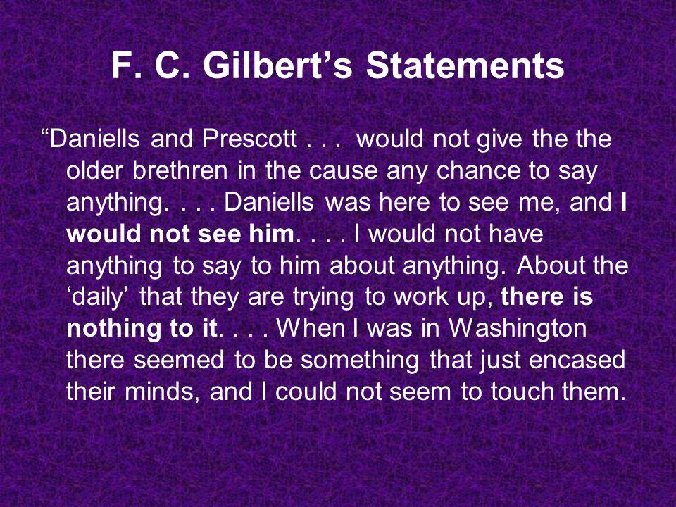 Daniells and Prescott...