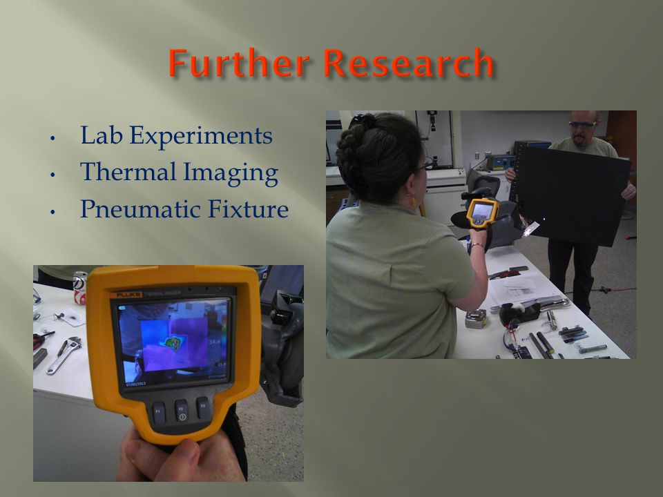 Lab Experiments Thermal Imaging Pneumatic Fixture