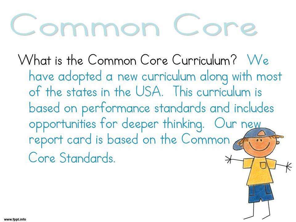 What is the Common Core Curriculum.