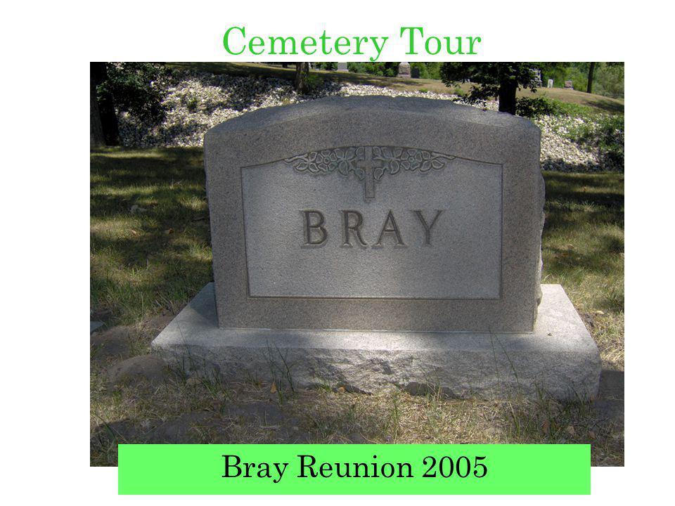Cemetery Tour Bray Reunion 2005