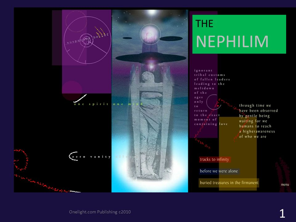 Onelight.com Publishing c2010 THE NEPHILIM 1