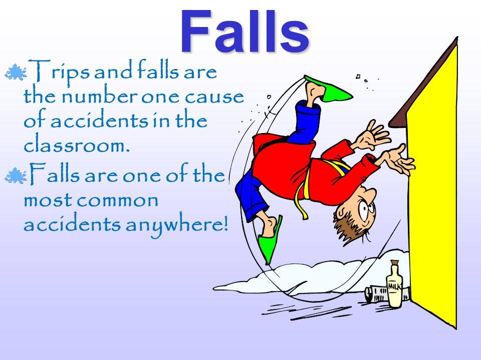 Introduction Accidents can happen anywhere. YOU keep our learning environment safe! Remember......