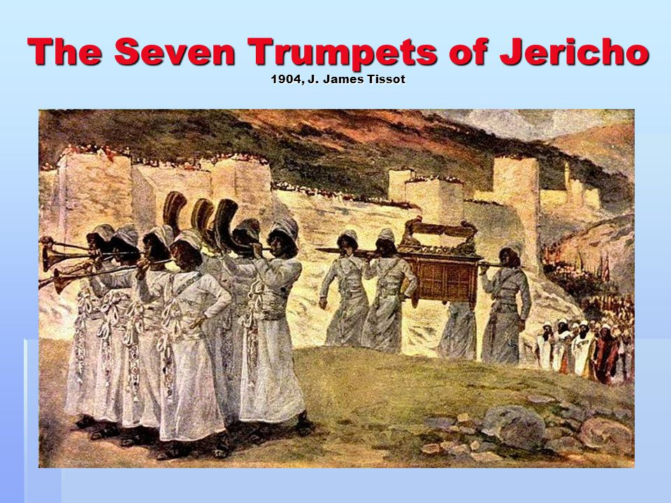 The Seven Trumpets of Jericho 1904, J. James Tissot