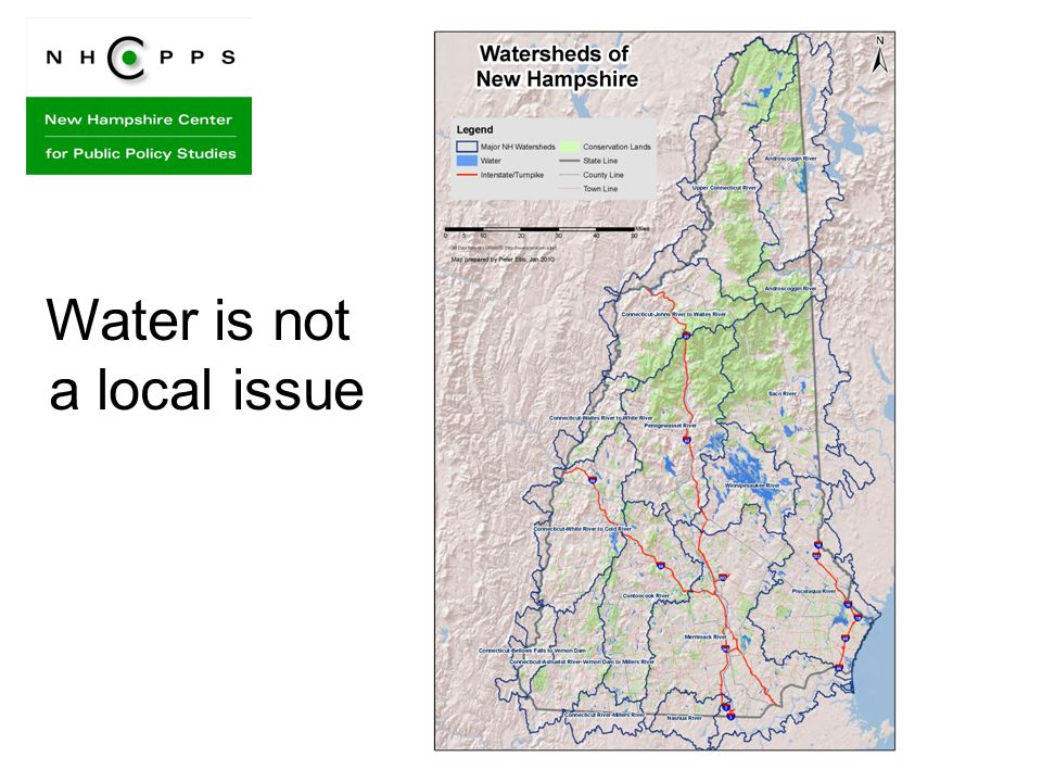 Water is not a local issue