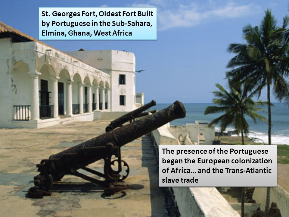 Benin Portuguese explorers built forts and trading centers (bought ivory, gold, cotton, pepper, and slaves) City of Benin grew wealthy from trade; cre