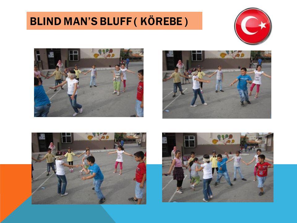 BLIND MANS BLUFF ( KÖREBE )