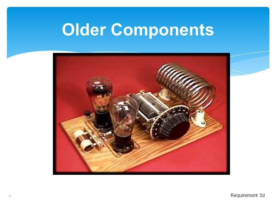 .. Older Components Requirement 5d