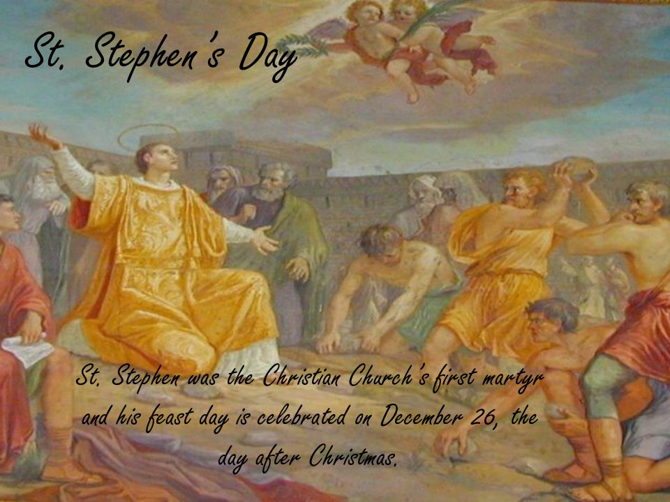 St. Stephens Day St.