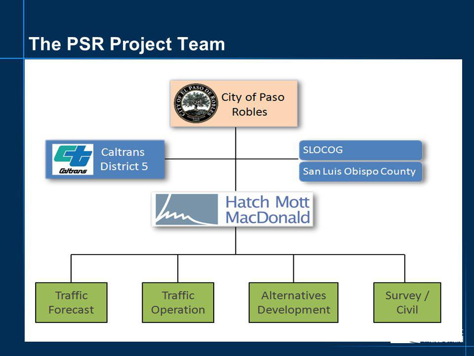 The PSR Project Team