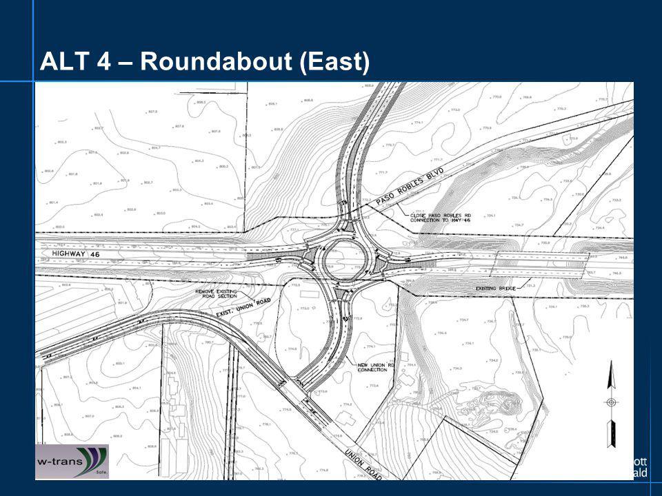 ALT 4 – Roundabout (East)