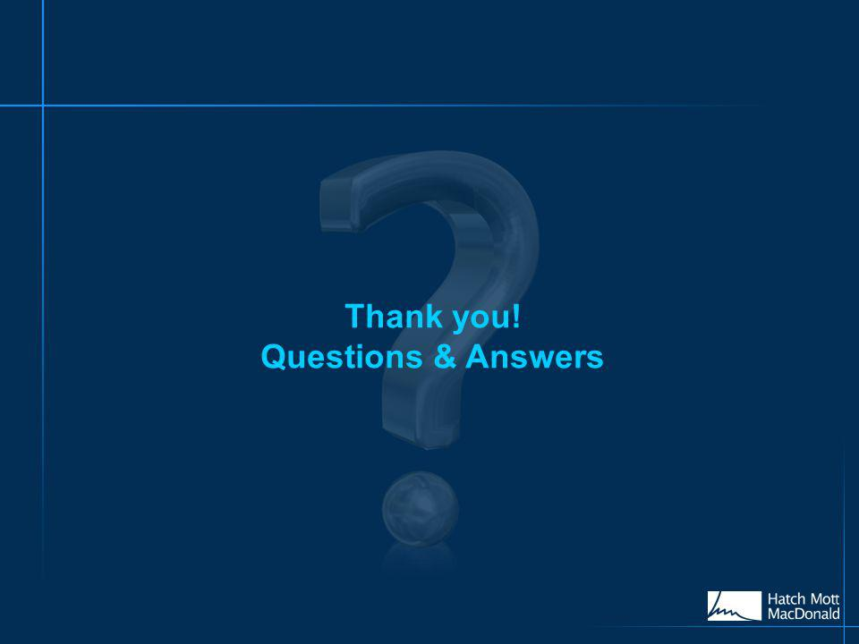 Thank you! Questions & Answers