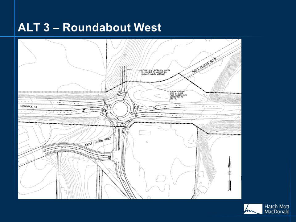 ALT 3 – Roundabout West