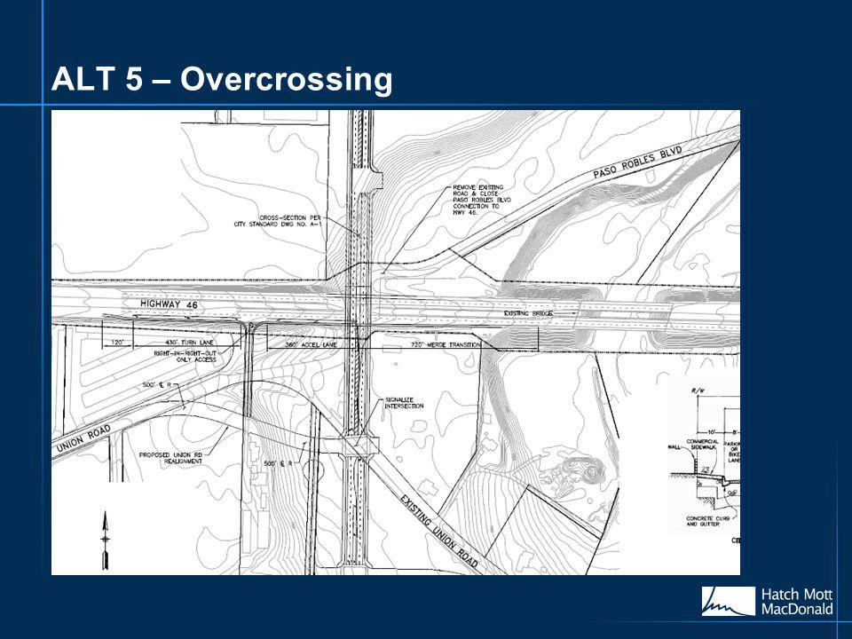 ALT 5 – Overcrossing