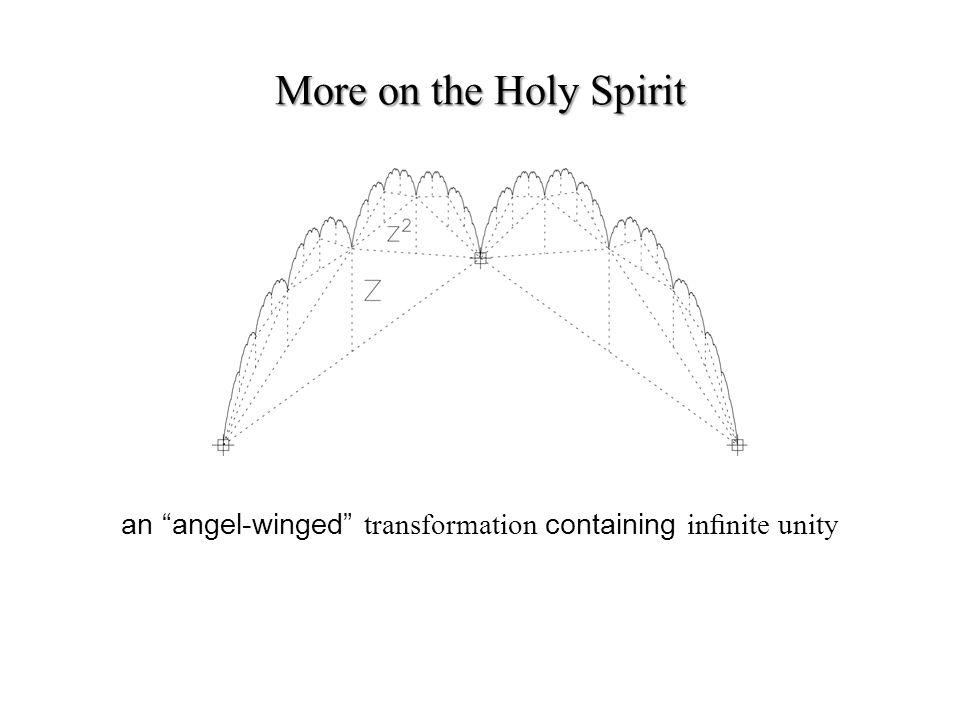 an angel-winged transformation containing innite unity