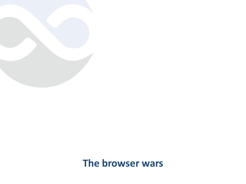 The browser wars