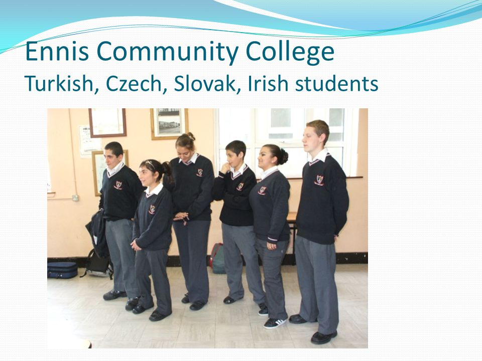 Ennis Educate Together School Roma pupils presentation