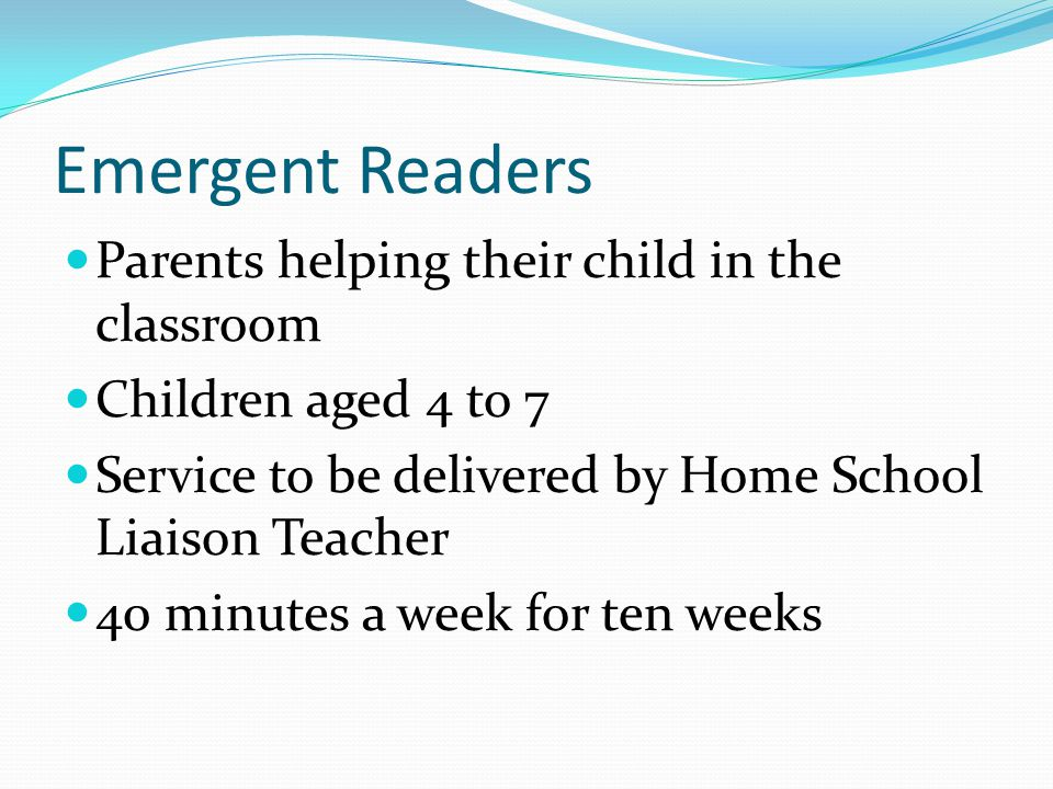 Comenius Project work Three groups we are working with: Emergent Readers 4 to 7 years old Boys age 10 to 13 Girls age 12 to 13