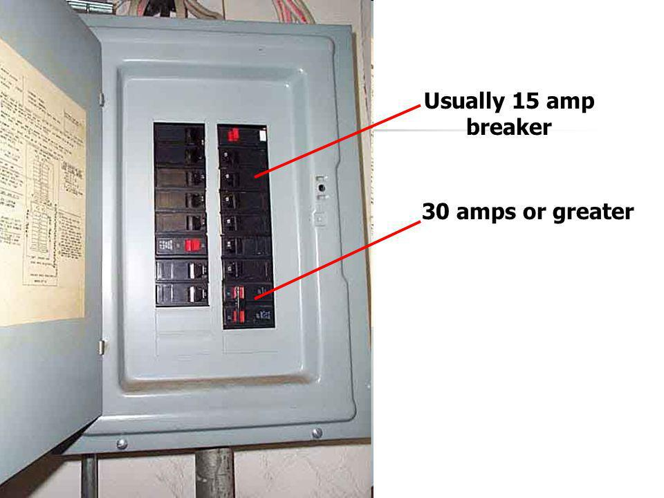 The Service Panel Since the service panel has black, red, and white wires, the total voltage is 120 + 120 = 240 volts.