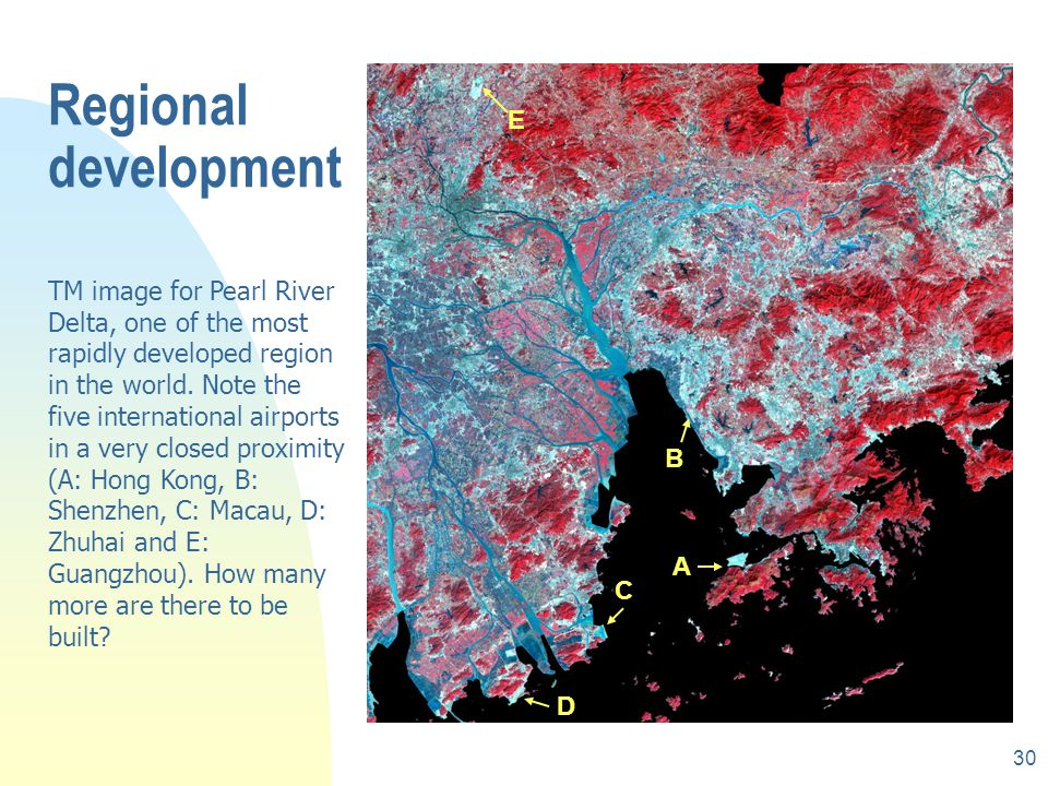 29 Urban and regional development rRegional landuse change detection rUrban expansion rLiving conditions and housing standards rPlanning