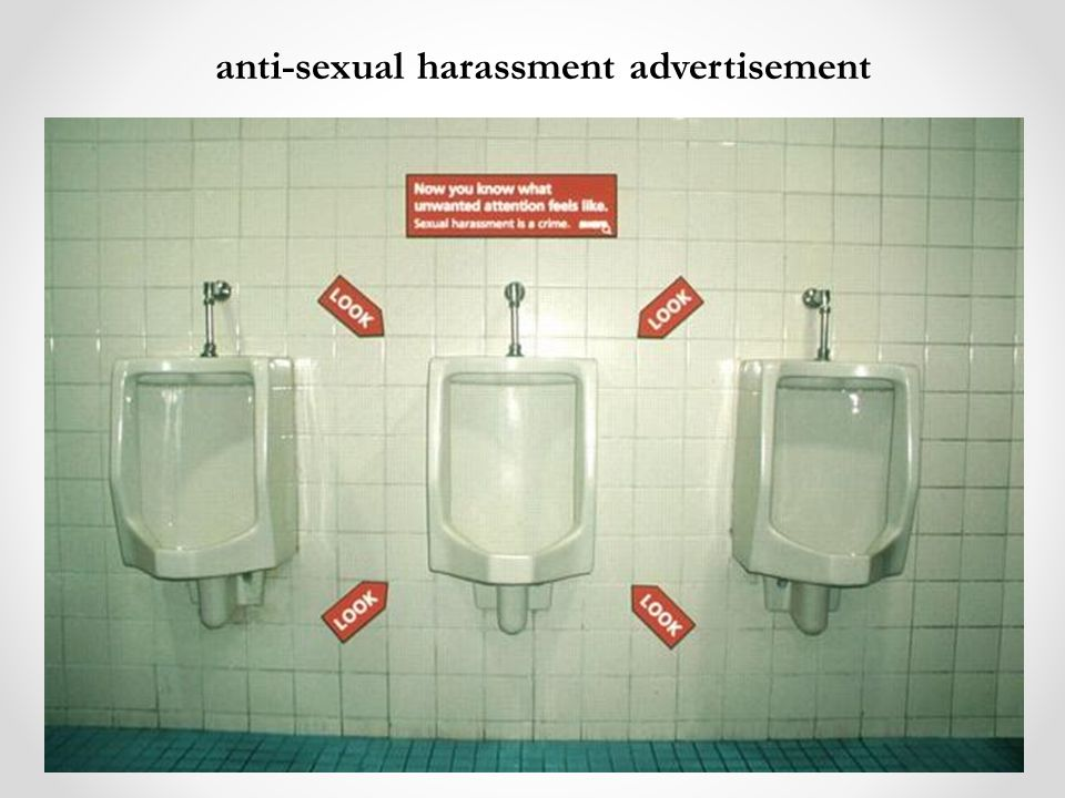 anti-sexual harassment advertisement