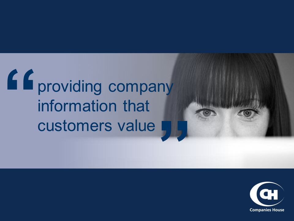 providing company information that customers value