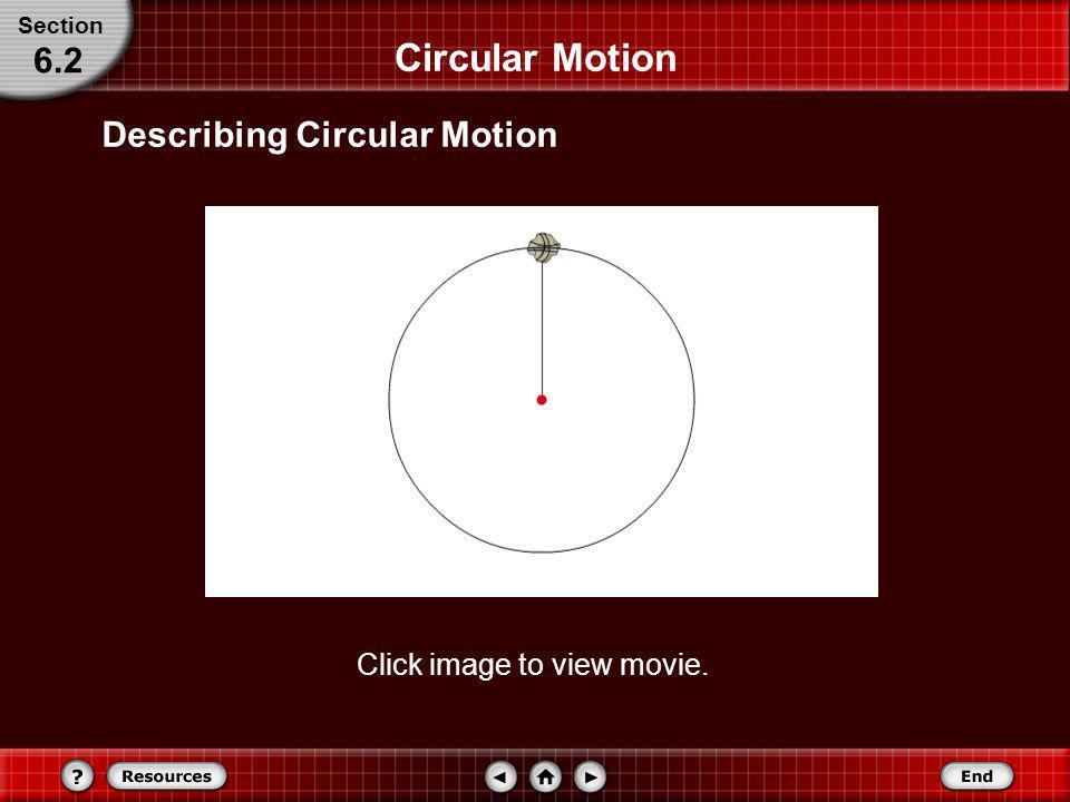 Circular Motion Explain why an object moving in a circle at a constant speed is accelerated. Describe how centripetal acceleration depends upon the ob