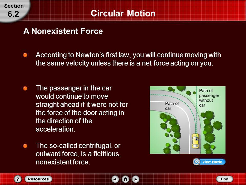 Circular Motion When solving problems, it is useful to choose a coordinate system with one axis in the direction of the acceleration. For circular mot
