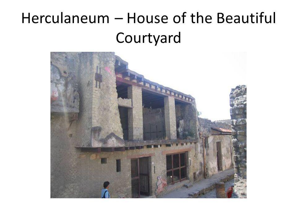 Herculaneum – House of the Beautiful Courtyard