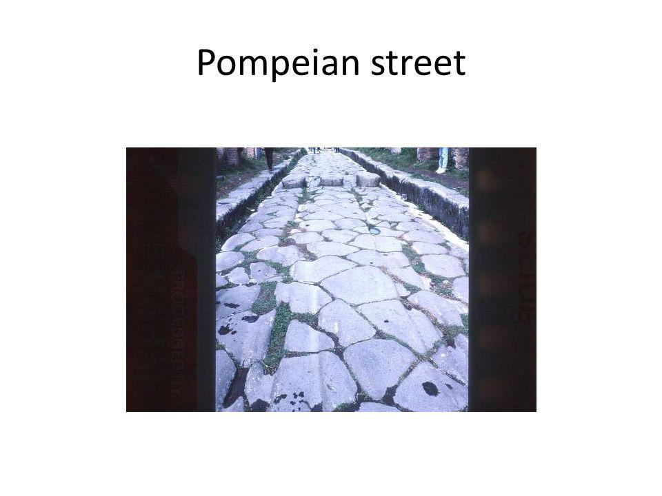 Pompeian street