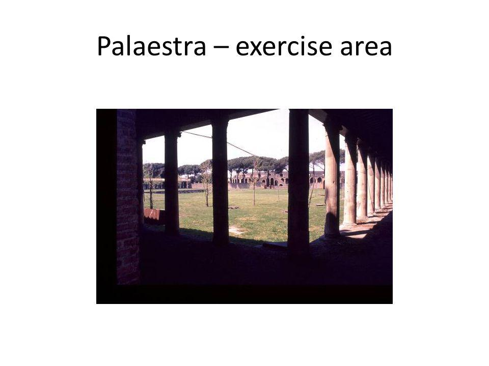 Palaestra – exercise area