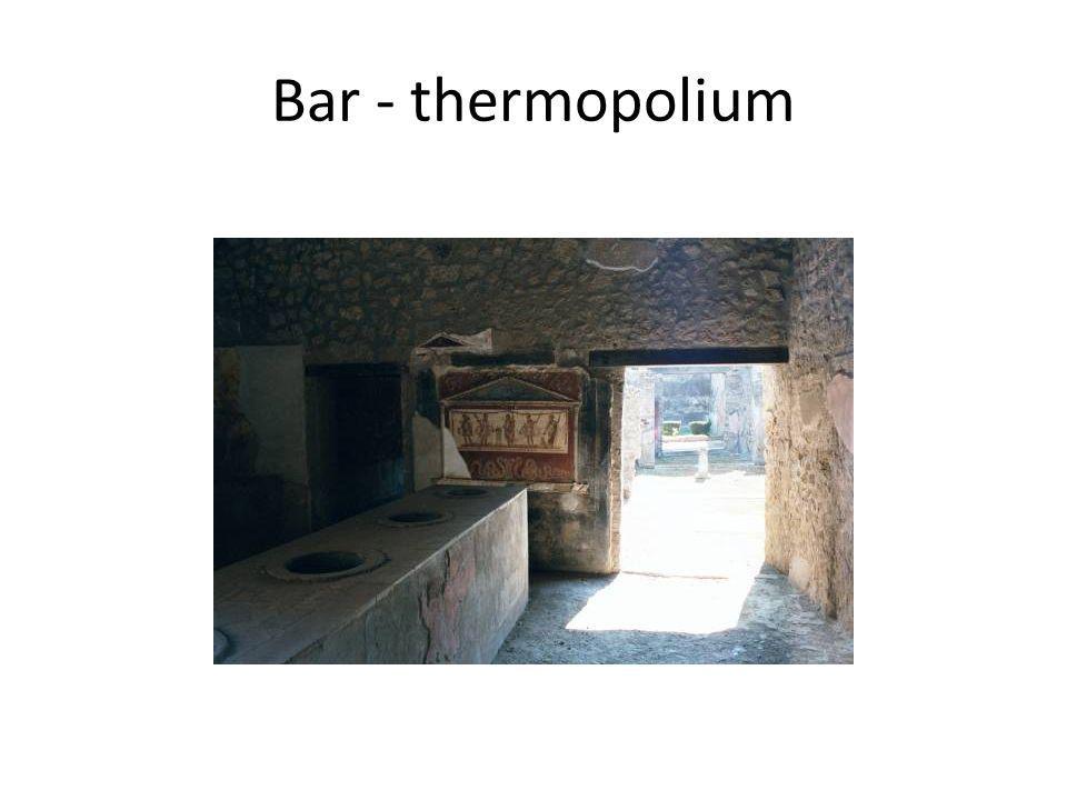 Bar - thermopolium