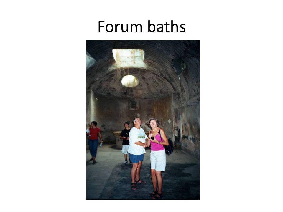 Forum baths