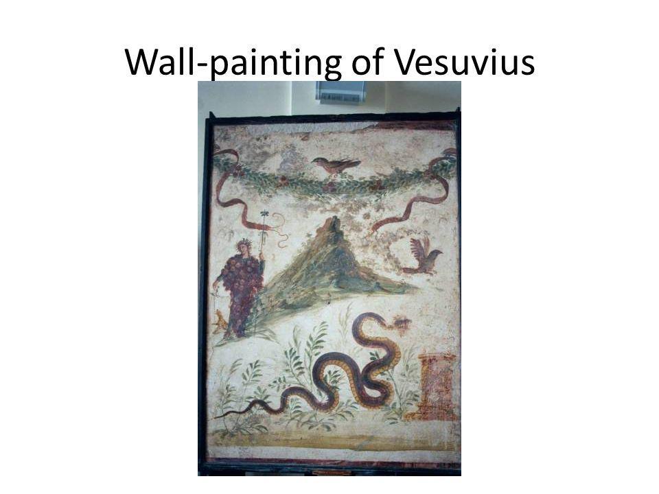 Wall-painting of Vesuvius