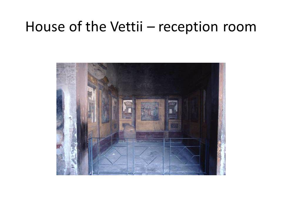 House of the Vettii – reception room