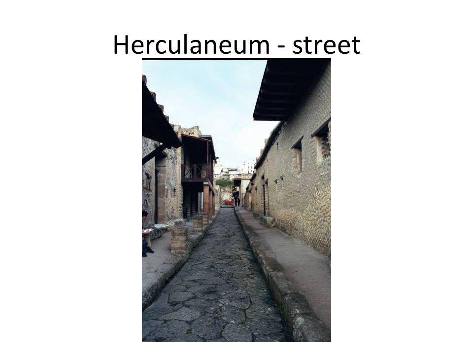 Herculaneum - street