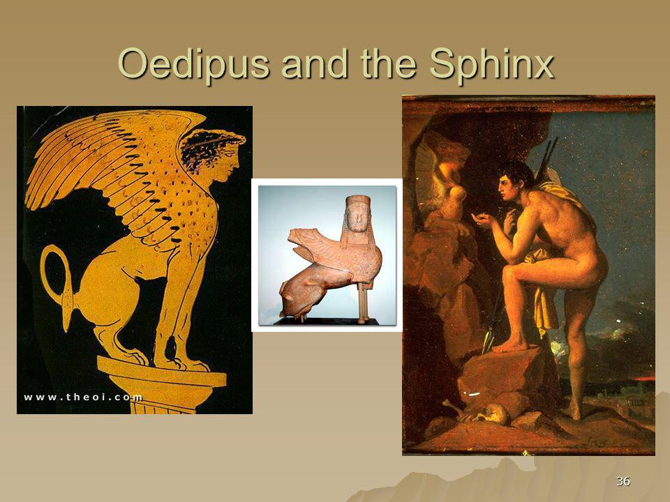 36 Oedipus and the Sphinx