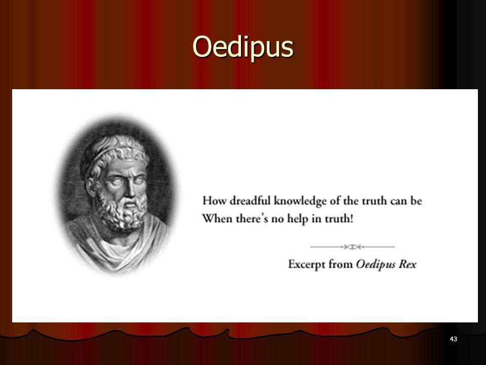 43 Oedipus